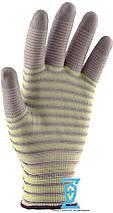 Перчатки рабочие с полиуретановым покрытием (Ребро), фото 2