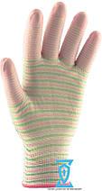 Перчатки рабочие с полиуретановым покрытием (Ребро), фото 3