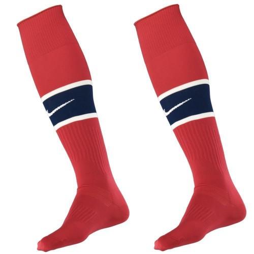 Футбольные детские гетры Nike красные (Оригинал)