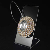 Декоративный магнит подхват магнитная клипса для тюлей и штор № 6-103