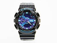 Часы CASIO G-SHOCK GA-110 реплика AAA  Без упаковки, Черный с синим