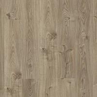 Виниловая клеевая плитка Quick Step LIVYN BALANCE GLU PLUS BAGP40026 Дуб котедж коричнево-сірий