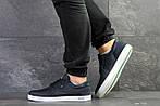 Мужские кроссовки Lacoste (темно-синие) , фото 2