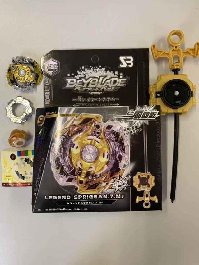 Beyblade LEGEND SPRIGGAN GOLD (Бейблейд Спрайзен Золотой) В111-86