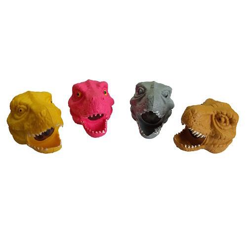 Игрушка антистресс голова динозавра 12 шт в уп