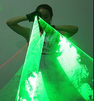 Laser перчатки Noblest Art с вихревым эффектом лазерного освещения для светового шоу, концертов (LY3211), фото 1
