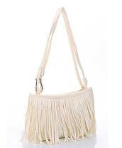 Стильная женская сумка с бахромой, фото 3