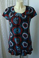 Платье женское мини теплое демисезонное бренд Euros р.46-48, фото 1
