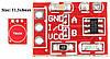 Датчик касания сенсорная кнопка TTP223 Arduino, фото 5