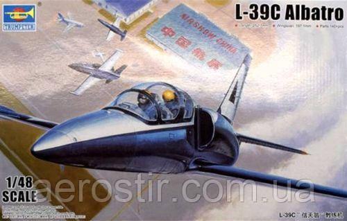 L-39C Albatros. 1/48 Trumpeter 05804