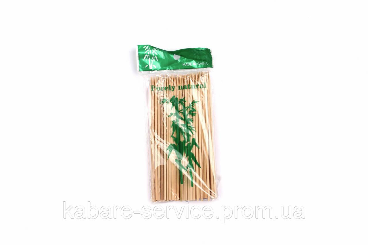 Шампур бамбуковый (15 см 3 мм 100 шт)