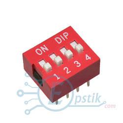 SWD1-4, переключатель на 4 контактных группы