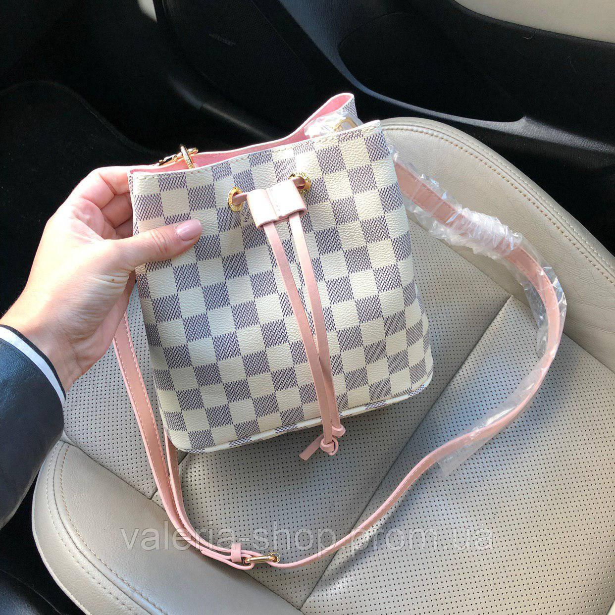 Сумка-мешок копия Louis Vuitton. Мини размер Фабричное качество