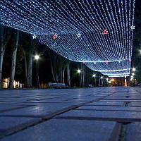 """Уличная Светодиодная Гирлянда Нить """"STRING"""" Гарантия 1 Год"""