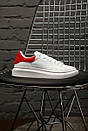 "Кроссовки Alexander McQueen ""White/Red"", фото 9"
