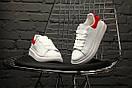 "Кроссовки Alexander McQueen ""White/Red"", фото 2"