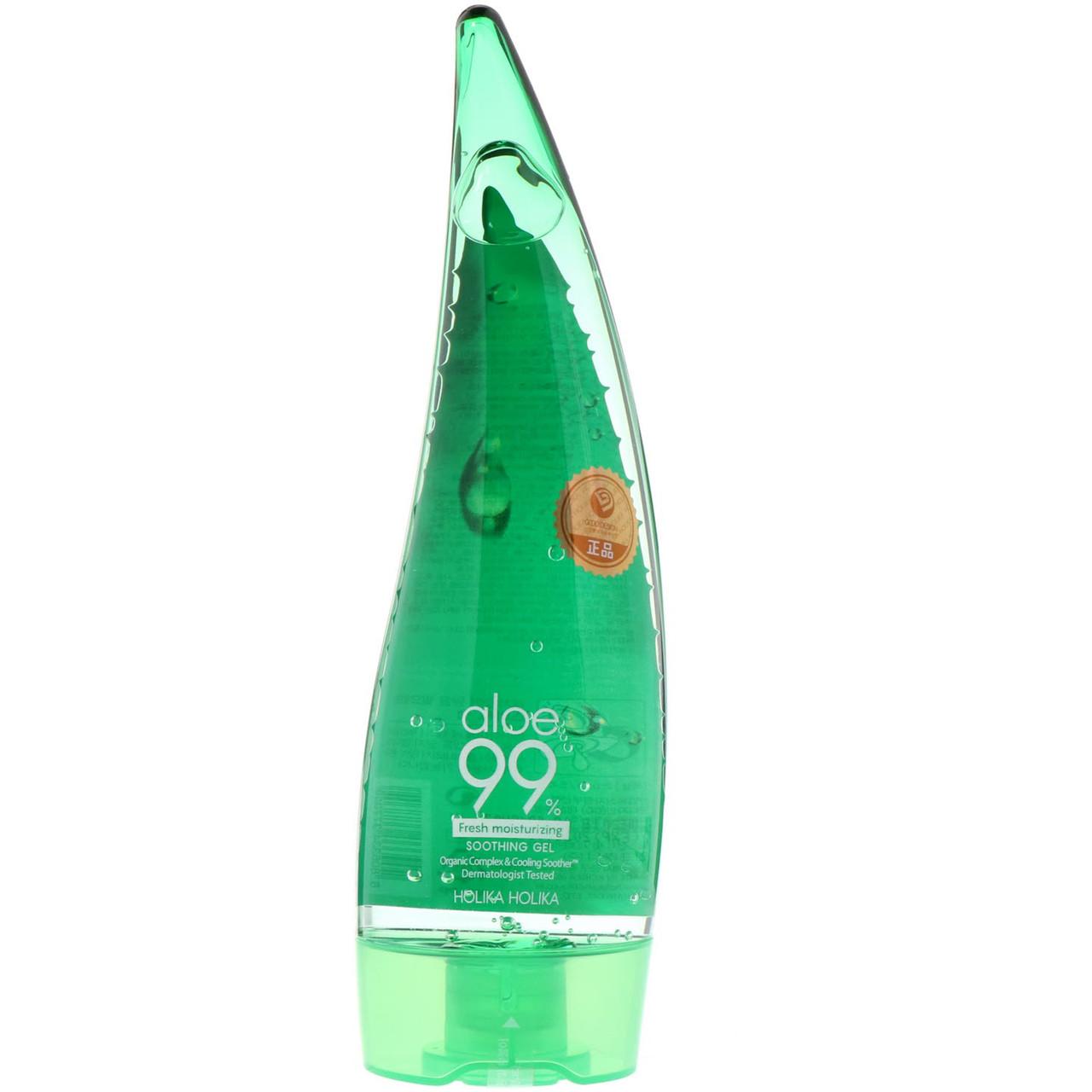 Гель Holika Holika Aloe 99% Soothing gel успокаивающий и увлажняющий 250 мл (377359)