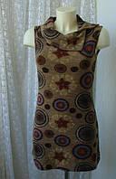 Платье женское теплое зима мини бренд Exhibit р.42-46
