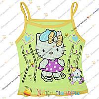 Детские Майки Hello Kitty для девочек от 1 до 5 лет (3407-3)