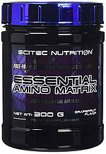 Scitec Nutrition Essential Amino Matrix 300 г , 30 порций. ВСАА , аминокислоты.