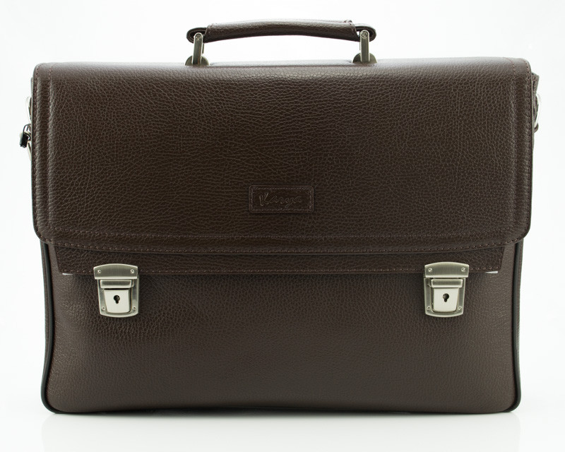 Коричневый мужской портфель Karya 0146-39 (Турция)