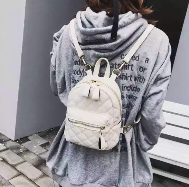 Рюкзак женский мини стеганый Монтана - фото 10