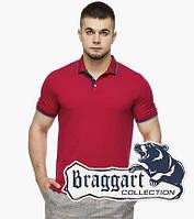 Мужская футболка поло 6584 красный, фото 1