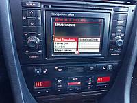 Центральная консоль 2din audi a6 c5 navigation plus в сборе ауди а6 с5, фото 1