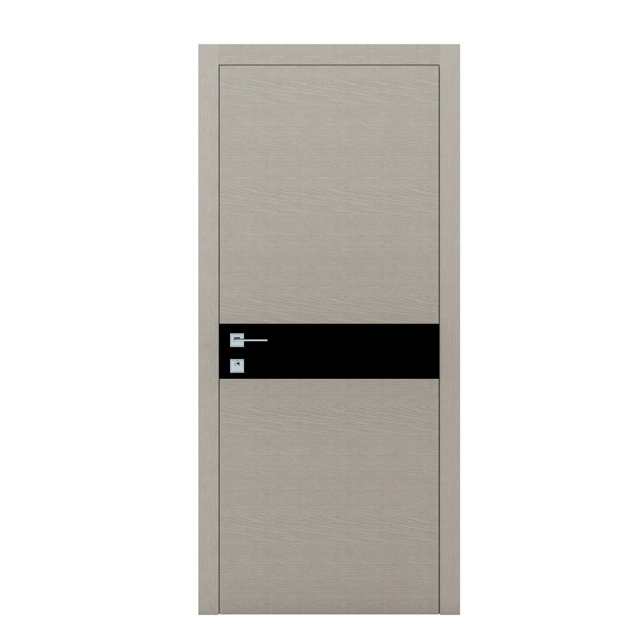 LOFT BERTA G,Полотно+коробка+2 к-та наличников+добор 77мм, шпон