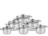 Набор посуды (Набор кастрюль) 12 пр. Bohmann 1231NS-BH