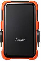 Накопитель внешний Apacer 2.5 USB 3.1 1TB AC630 Черный/Оранжевый