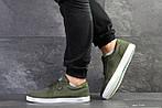 Мужские кроссовки Lacoste (темно-зеленые) , фото 3