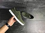 Мужские кроссовки Lacoste (темно-зеленые) , фото 5