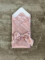 Летний конверт-одеяло Ангел (розовый)