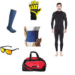Одяг і аксесуари для тренувань