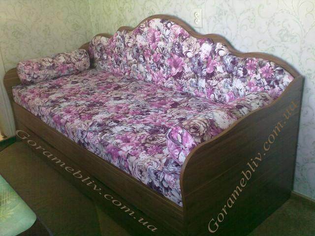 """На фото: детская кровать """"Л-6"""", в интерьере (фото и отзыв наших клиентов)"""