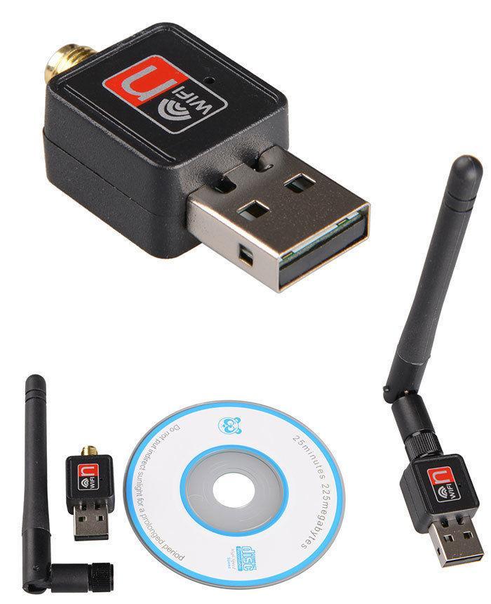 Антенна WIFI USB 802.1 IN WF-2 / беспроводной Wi-Fi USB адаптер