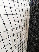 "Сетка ""Птичка"" 2м Высота на метраж от птиц, ячейка 12х14 мм. (зеленая, черная) Клевер от 10 метров"