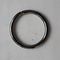 Кольцо литое сварное 31 мм черный никель