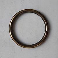 Кольцо литое сварное 39 мм антик