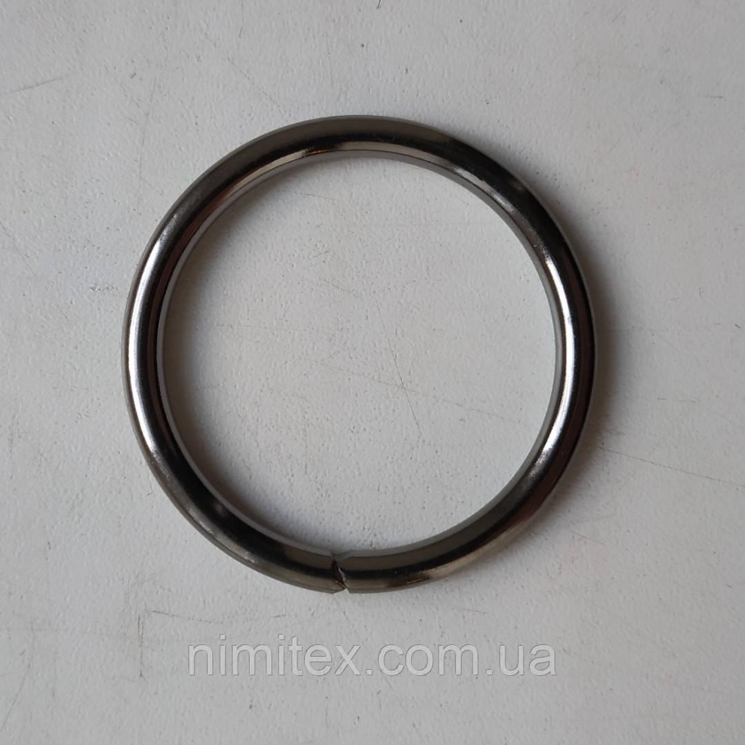 Кольцо литое сварное 39 мм черный никель