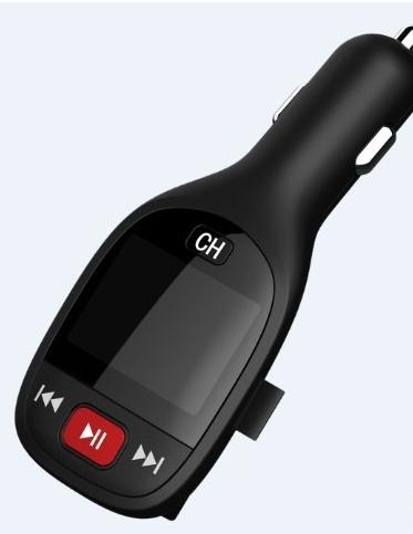 Fm модулятор MicroSD SD USB ST708-D