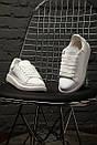 """Кроссовки Alexander McQueen """"Full White"""", фото 2"""