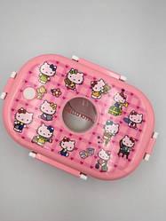 Дитячий ланч бокс Hello Kitty