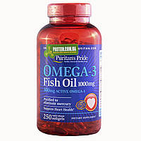 Рыбий жир Puritan's Pride OMEGA-3 FISH OIL 1000 мг 250 капс