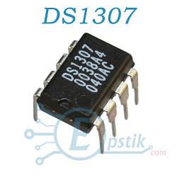 DS1307, микросхема, часы реального времени, DIP8