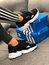 Кроссовки черные женские Adidas Falcon , фото 5
