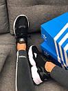 Кроссовки черные женские Adidas Falcon , фото 7