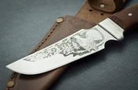 Охотничий нож Тотем Глухарь,охотничьи ножи,товары для рыбалки и охоты,оригинал ,качество,тур ножи