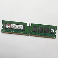 Оперативная память Kingston DDR2 1Gb 667MHz PC2 5300U 2R8 CL5 (KVR667D2N5K2/2G) Б/У, фото 1
